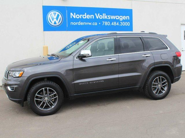 2017 JEEP GRAND CHEROKEE LIMITED - HEATED LEATHER / SUNROOF / REAR-VIEW CAMERA in Edmonton, Alberta