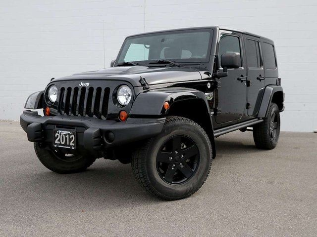 2012 JEEP WRANGLER Unlimited Rubicon Call of Duty MW3 Special Edition in Penticton, British Columbia