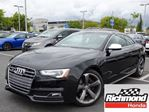 2015 Audi S5 3.0T Technik quattro 7sp S tronic Cpe in Richmond, British Columbia