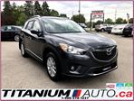 2015 Mazda CX-5 GS-GPS-Camera-Blind Spot-Sunroof-Heated Power Seat in London, Ontario