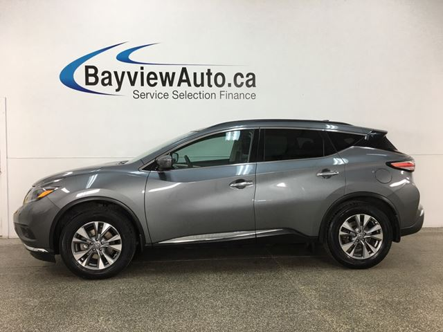2018 NISSAN MURANO SV - PANOROOF! HTD SEATS! DUAL CLIMATE! REVERSE CAM! in Belleville, Ontario