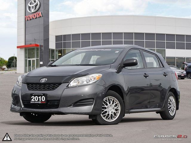 2010 TOYOTA Matrix Budget hatch with Toyota reliability. Perfect city car - US:CarNews.com in London, Ontario