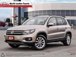 2015 Volkswagen Tiguan Highline In the top 5 affordable cross-overs of 2015, with low maintenance cost as well - US:CarNews.com in London, Ontario