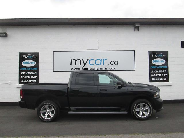 2016 Dodge RAM 1500 Sport LEATHER, BACK UP CAM, POWER SEAT!!! in North Bay, Ontario