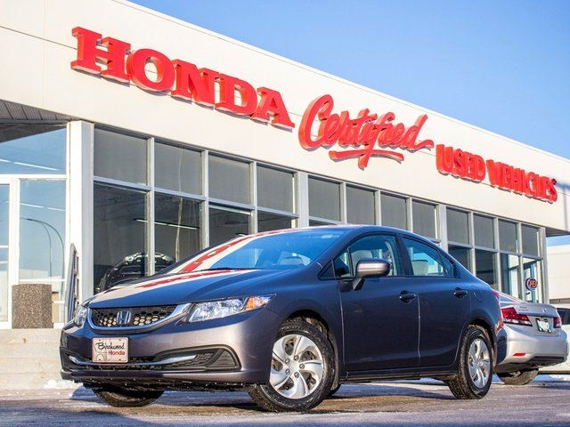 2015 HONDA Civic LX **INCOMING** in Winnipeg, Manitoba