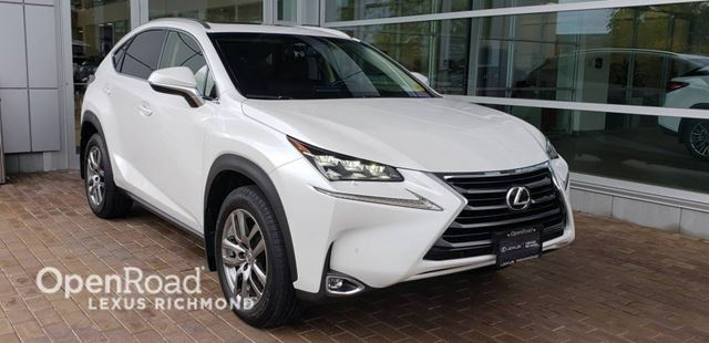 2017 Lexus NX 200t Luxury Edition LOW LOW kms in Richmond, British Columbia