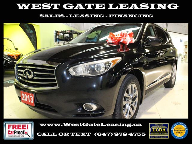 2013 Infiniti JX AWD LEATHER  SUNROOF  7 PASSENGER  in Vaughan, Ontario