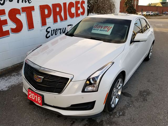 2016 Cadillac ATS 2.0L Turbo Luxury Collection AWD, SUNROOF, LEATHER, REMOTE START  in Oshawa, Ontario