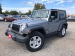 2013 Jeep Wrangler Sport 6spd Hardtop Convertible in St Catharines, Ontario