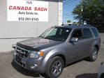 2008 Ford Escape Limited,LEATHER,ROOF,4WD,127KM,12 M WRTY,SAFETY $5990 in Ottawa, Ontario