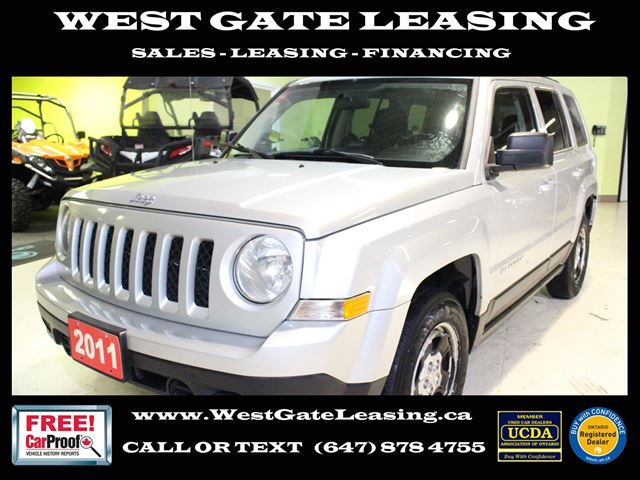 2011 Jeep Patriot 4X4  AUTOMATIC  NO ACCIDENTS  in Vaughan, Ontario