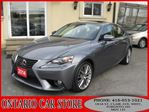 2014 Lexus IS 250 AWD NAVIGATION LEATHER SUNROOF in Toronto, Ontario