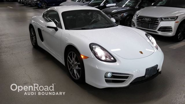 2014 Porsche Cayman 2dr Cpe in Vancouver, British Columbia
