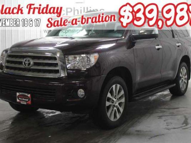 2015 TOYOTA Sequoia Limited in Winnipeg, Manitoba