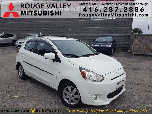 2014 MITSUBISHI Mirage SE! ONE OWNER!! ACCIDENT FREE!!! NAVIGATION!! in Scarborough, Ontario