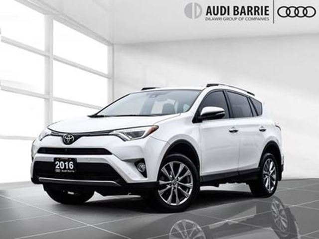 2016 TOYOTA RAV4 AWD Limited Nav/Leather/Roof in Innisfil, Ontario