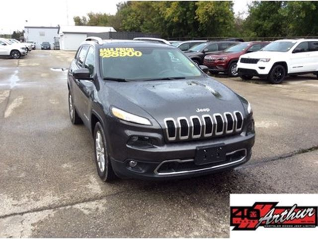 2016 JEEP Cherokee Limited in Arthur, Ontario