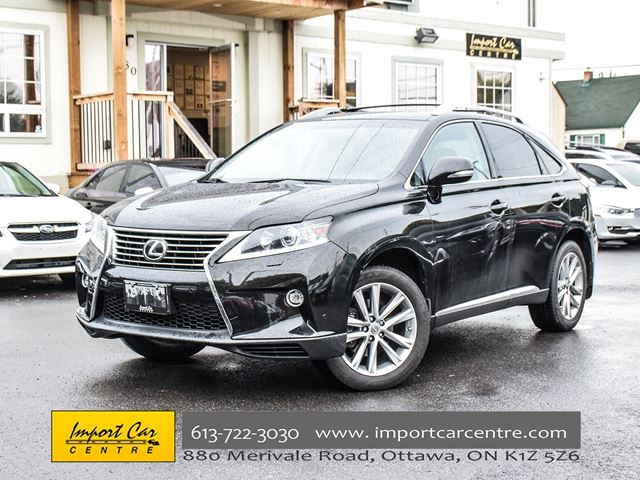 2015 LEXUS RX 350 TOURING AWD NAV COOLED SEATS ONLY 49KKMS WOW!! in Ottawa, Ontario