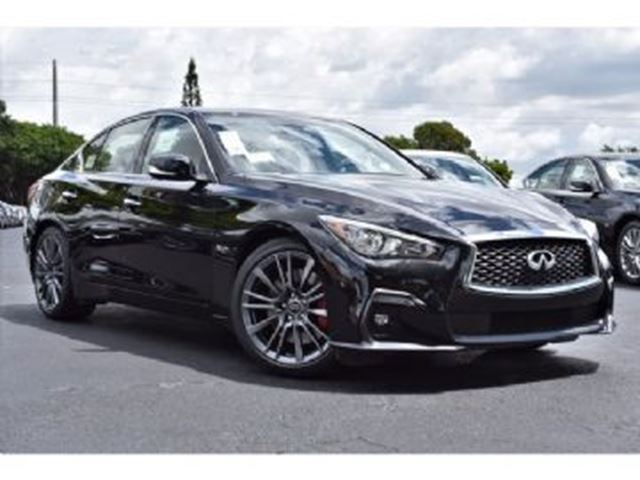 2018 INFINITI Q50 3.0T Luxe AWD in Mississauga, Ontario
