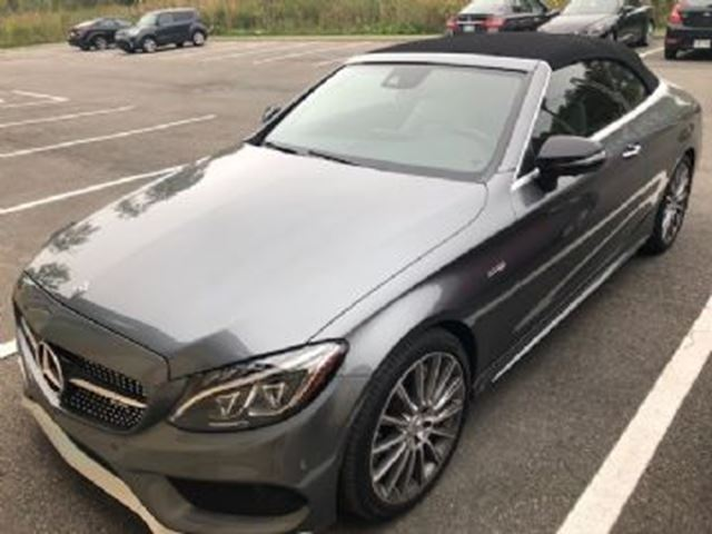 2018 MERCEDES-BENZ C-Class C43 AMG AWD in Mississauga, Ontario
