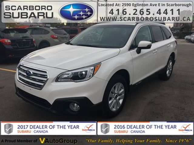 2016 SUBARU Outback 2.5i Touring Pkg, FROM 1.9% FINANCING AVAILABLE in Scarborough, Ontario