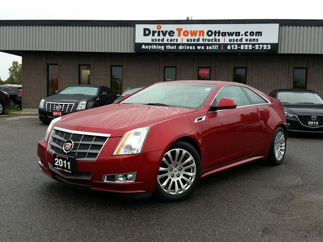 2011 CADILLAC CTS PREMIUM **MOONROOF**LEATHER**NAVIGATION** in Ottawa, Ontario