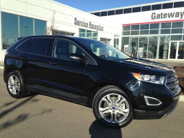 Ford Edge Titanium Leather Intelligent Awd Nav Back Up Cam In
