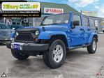 2011 Jeep Wrangler LIMITED. SAHARA. MANUAL TRANSMISSION in Tilbury, Ontario