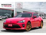 2018 Toyota 86 GT BACK UP CAM HEATED SEATS REAR SPOILER in Georgetown, Ontario