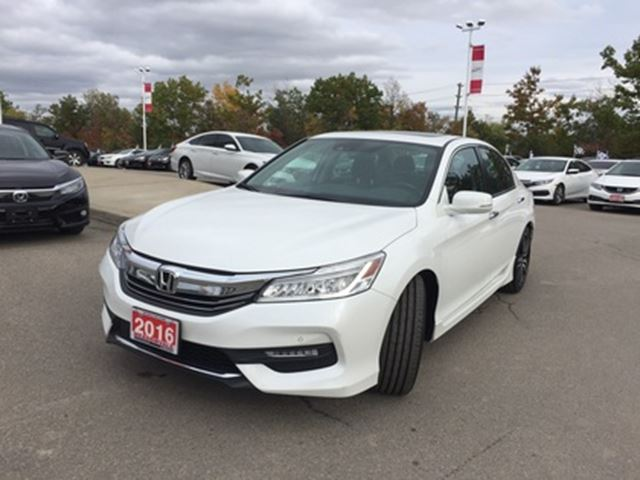 2016 HONDA Accord  Touring   ONE OWNER   NO ACCIDENT   MEMORY SEATS in Mississauga, Ontario