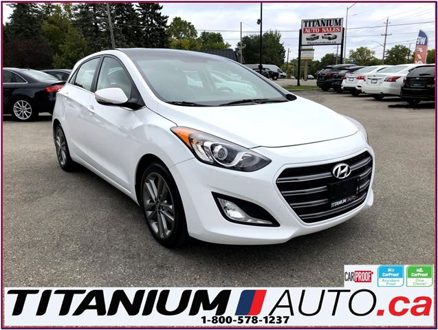 2016 HYUNDAI Elantra Limited-GPS-Camera-Pano Roof-Leather-Apple Play-XM in London, Ontario