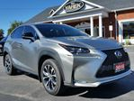 2016 Lexus NX 200t Sport AWD w/Blindspot & Accident Avoidence, NAV, Heated Seats, Loaded in Paris, Ontario