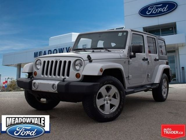 2012 JEEP Wrangler Unlimited SAHARA, HARD TOP In Mississauga, Ontario