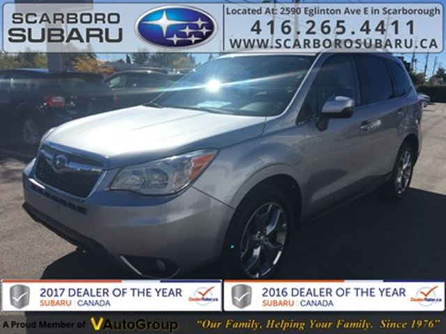 2015 SUBARU Forester 2.5i Limited PKG, FROM 1.9% FINANCING AVAILABLE in Scarborough, Ontario