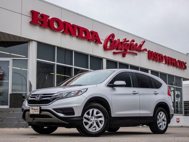 2015 HONDA CR-V SE AWD **CLEARANCE PRICE** in Winnipeg, Manitoba