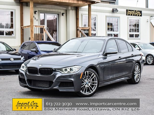 2013 BMW 3 Series 335i xDrive M SPORT 6 SPEED LEATHER ROOF WOW!! in Ottawa, Ontario