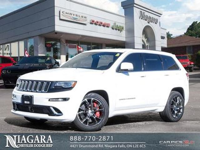 2014 JEEP GRAND CHEROKEE SRT LUXURY GROUP LAGUNA SEATS LOADED!! In Niagara  Falls,