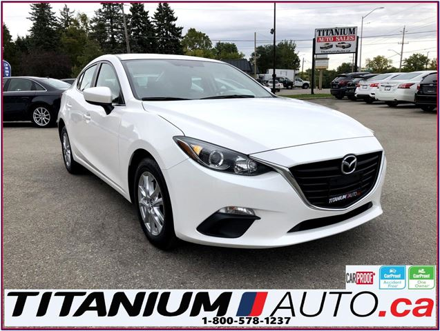 2015 MAZDA MAZDA3 GS Sky Camera GPS Heated Seats Remote Start