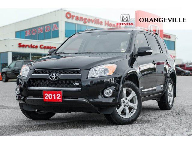 2012 TOYOTA RAV4 NAVIGATION BACK UP CAM HEATED SEATS LEATHER CLEAN in Orangeville, Ontario