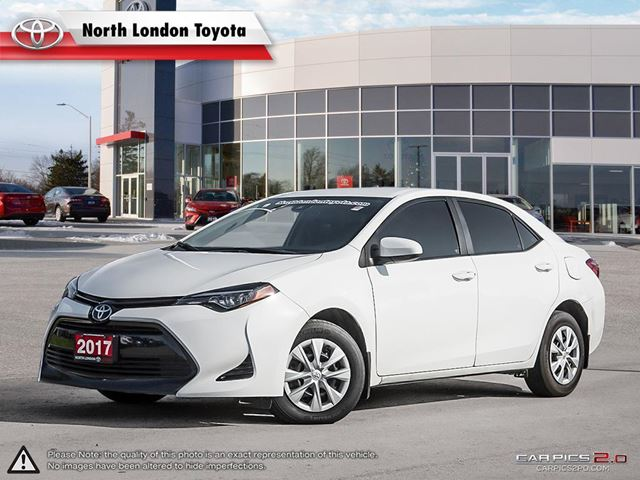 2017 TOYOTA Corolla CE Very low cost of maintenance, Toyota's world renowned reliability - guideautoweb.com in London, Ontario