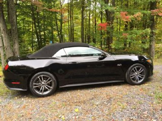 2017 Ford Mustang GT Premium, Convertible, 5.0L V8 in Mississauga, Ontario