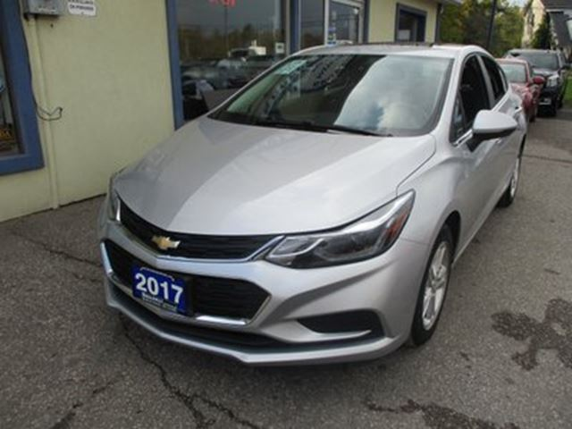 2017 CHEVROLET Cruze 'LIKE NEW' LT EDITION 5 PASSENGER 1.4L - TURBO. in Bradford, Ontario