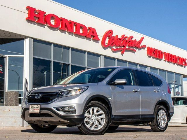 2016 HONDA CR-V SE AWD in Winnipeg, Manitoba