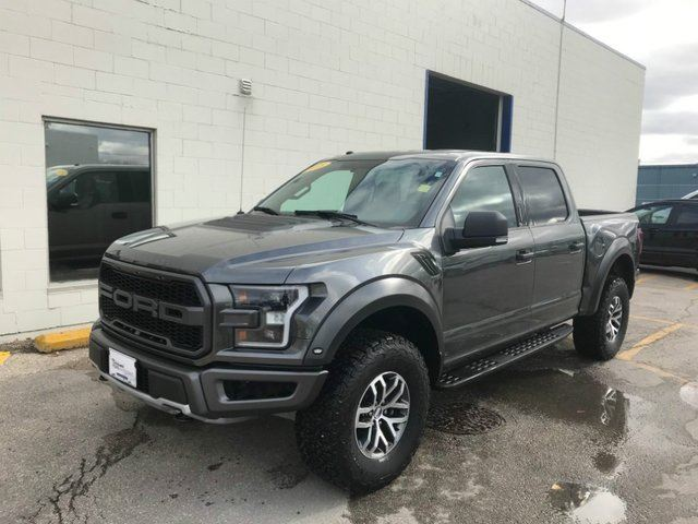 2018 FORD F-150 Raptor Supercrew 4X4*Local Trade/801a Package* in Winnipeg, Manitoba