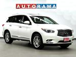 2013 Infiniti JX NAVIGATION LEATHER SUNROOF 4WD 7 PASS BACKUP CAM in North York, Ontario