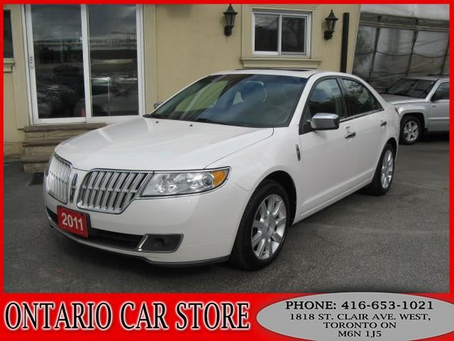 2011 LINCOLN MKZ AWD NAVIGATION LEATHER SUNROOF in Toronto, Ontario
