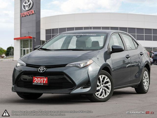 2017 TOYOTA Corolla LE Former Daily Rental. Great resale value, and top safety pick - TheCarConnection.com in London, Ontario