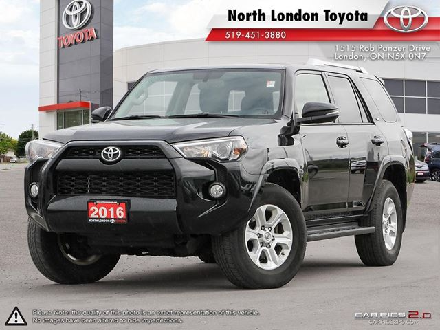 2016 TOYOTA 4Runner SR5 Ample cargo space, a strong V6 and amazing off-road capability - Edmunds.com in London, Ontario