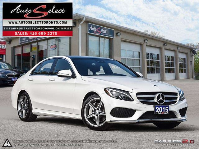 2015 MERCEDES-BENZ C-Class 4Matic C300 AWD ONLY 92K! **SPORT PKG** TECHNOLOGY PKG in Scarborough, Ontario