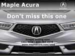 2016 Acura TLX Tech in Maple, Ontario